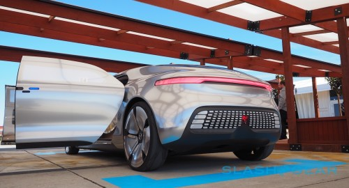 Up close with F 015, Mercedes' incredible self-driving car