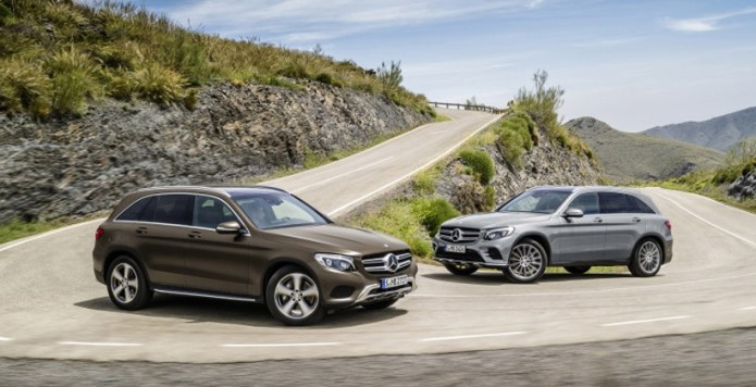 2016 Mercedes GLC rolls out packing 2.0L turbo four