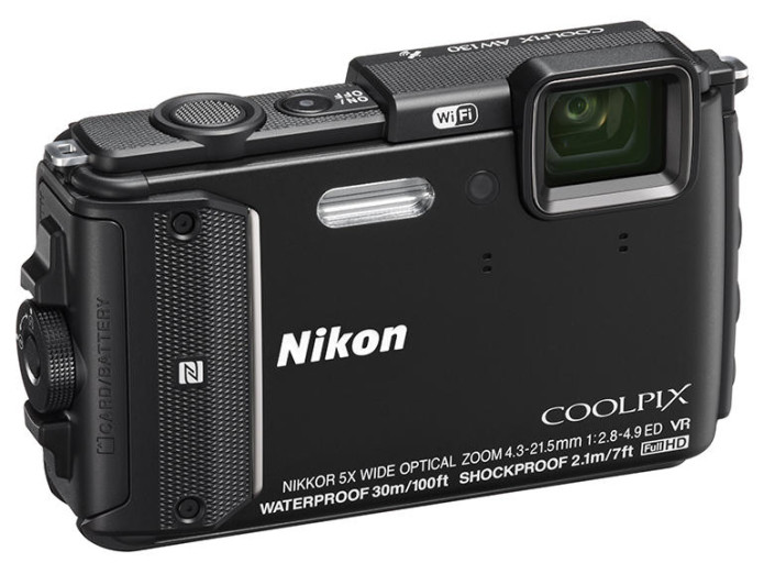 Nikon seals up rugged Coolpix AW130 for deeper dives
