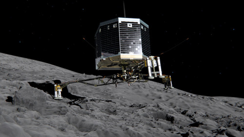 Europe's Philae comet lander finally wakes up
