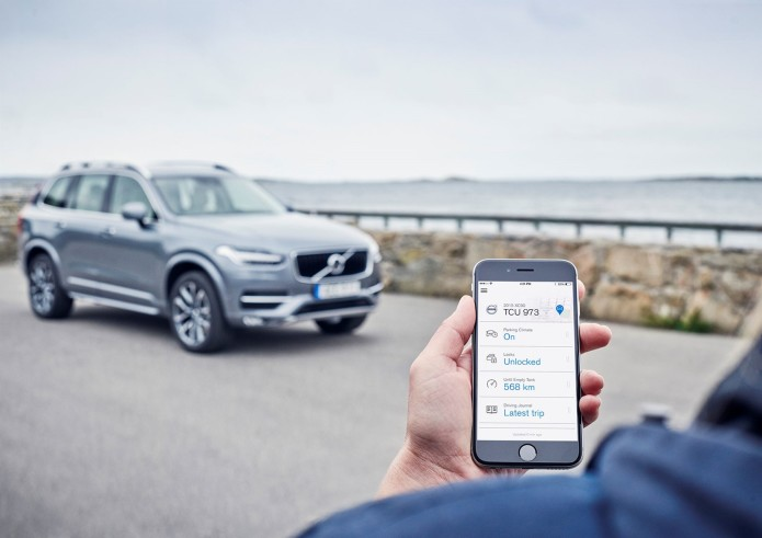 Volvo On Call smart app to be accessible via Apple Watch