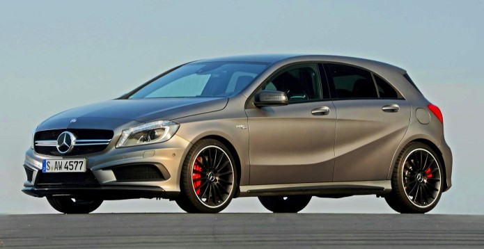 Mercedes A45 AMG bumped to 381hp