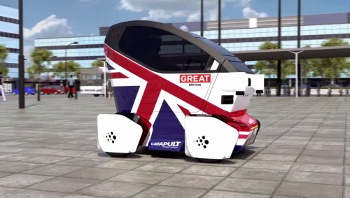 Driverless car trials start on UK roads in 2017