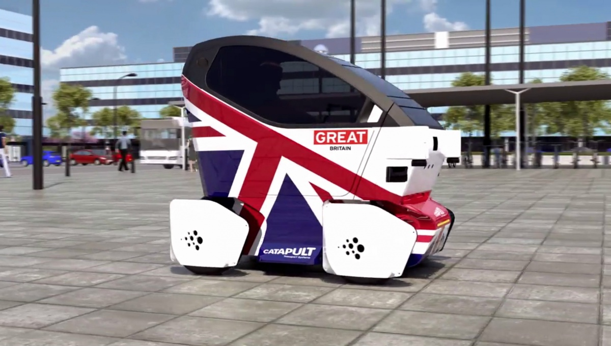 Driverless car trials start on UK roads in 2017 | GearOpen