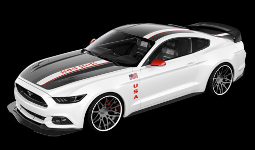 Unleash your inner astronaut with the 2015 Ford Mustang GT 'Apollo Edition'