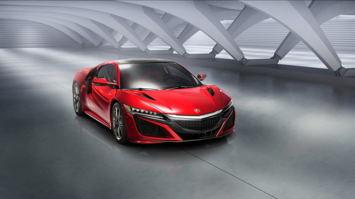 2016 Acura NSX in 'Verification' stage of pre-production real-world road testing