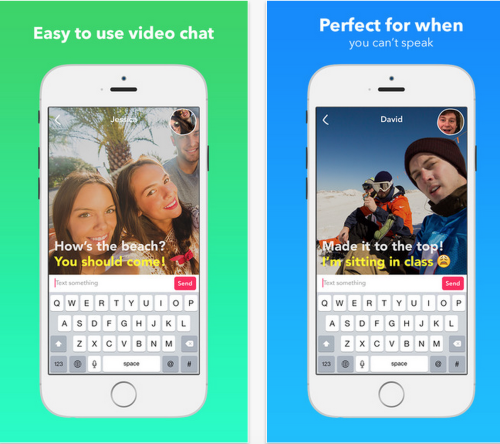 Yahoo Livetext 'video messenger' app arrives for iOS