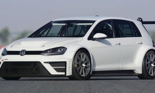 Volkswagen Golf race car concept unveiled
