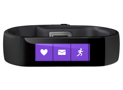 Microsoft Band lets users create web tiles via RSS feeds
