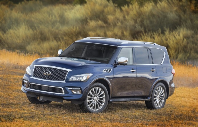 Infiniti QX80 named Best-In-Class for luxury segment in AutoPacific Vehicle Satisfaction Awards
