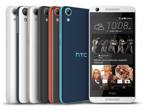 HTC Desire line gushes midrange Android across nine US carriers