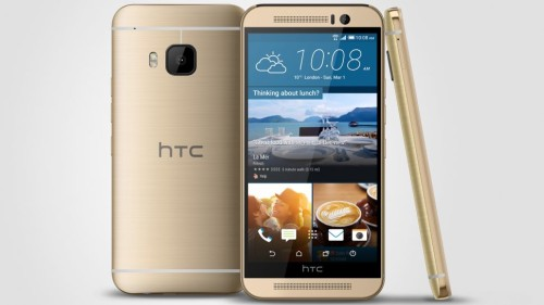 HTC One M9+ ramps up screen resolution and scans your fingers
