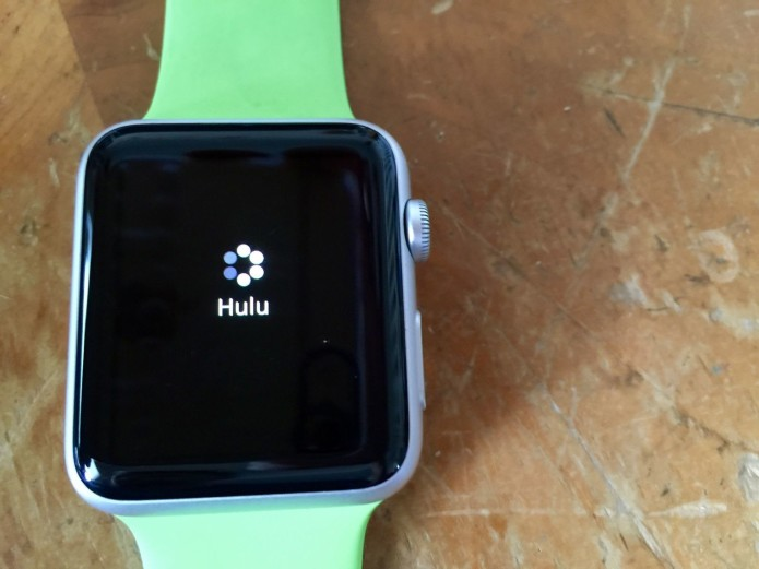 Apple Watch will now control Hulu from your wrist