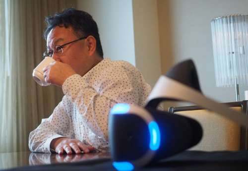 Sony's Shuhei Yoshida reacts to the 'Nintendo PlayStation'