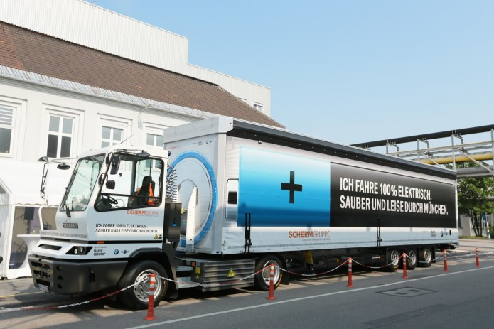 BMW Group unveils new clean and quiet electric truck in Germany