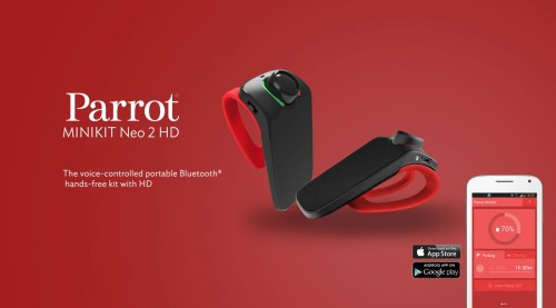 Parrot Minikit Neo 2 HD review: Parrot's Bluetooth car kit gains colorful plumage, improved voice command options