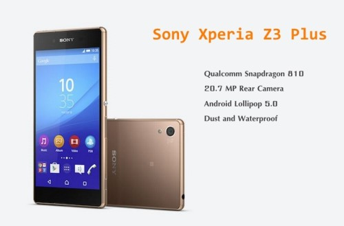 VIDEO Sony Xperia Z3 Plus review