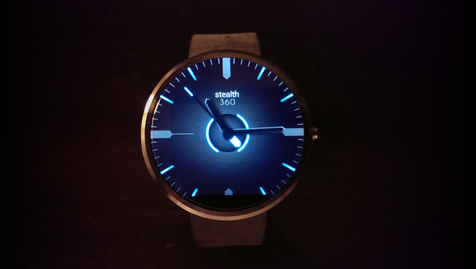 Watch Face Stealth360 for Android Wear-2