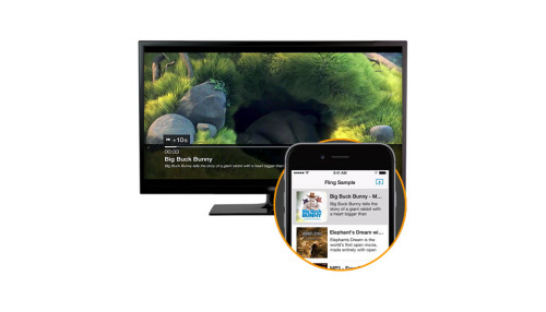 Amazon's Fling is its version of AirPlay and Google Cast