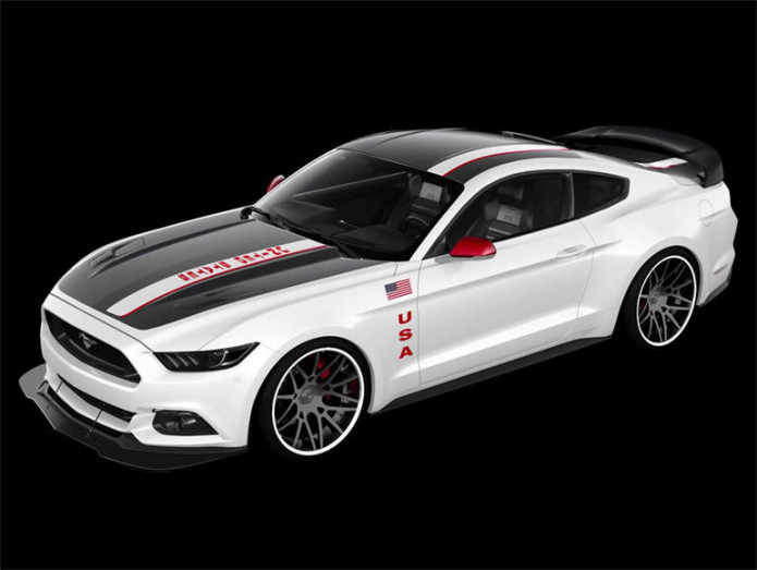 Apollo Edition Ford Mustang to be auctioned by Experimental Aircraft Association