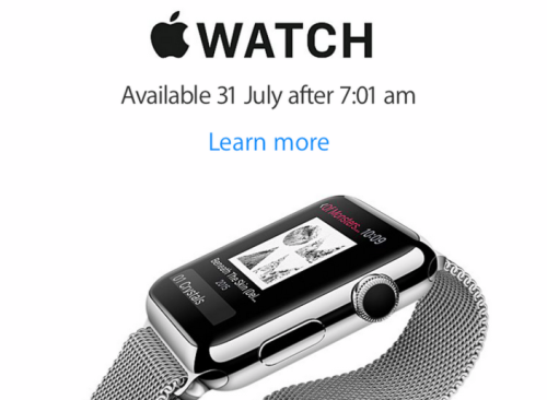New Zealand gets Apple Watch release date
