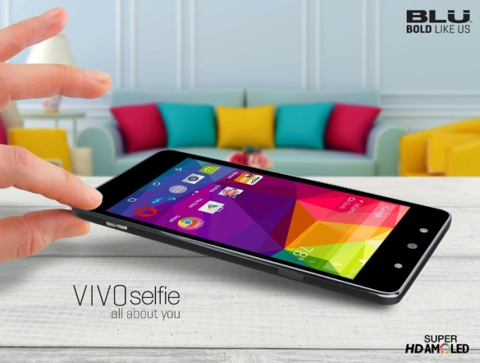 Vivo Selfie (PRNewsFoto/BLU Products)