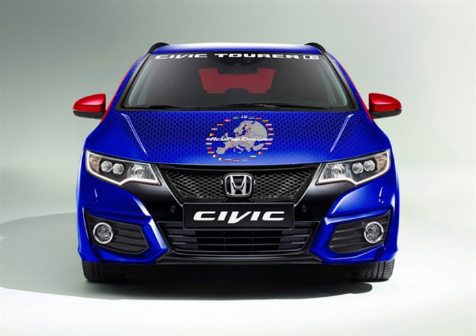 Honda Civic Tourer sets World Record for fuel efficiency at 100.31 mpg