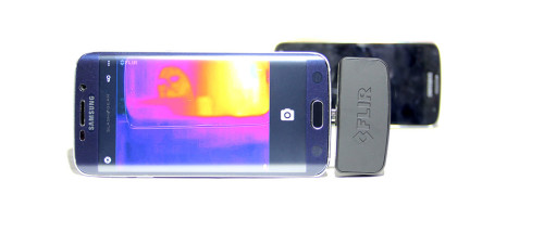 FLIR ONE Thermal camera for Android hands-on