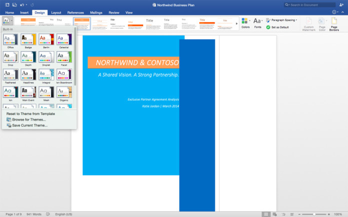 Office for Mac 2016 exits preview, bridges the gap with Windows