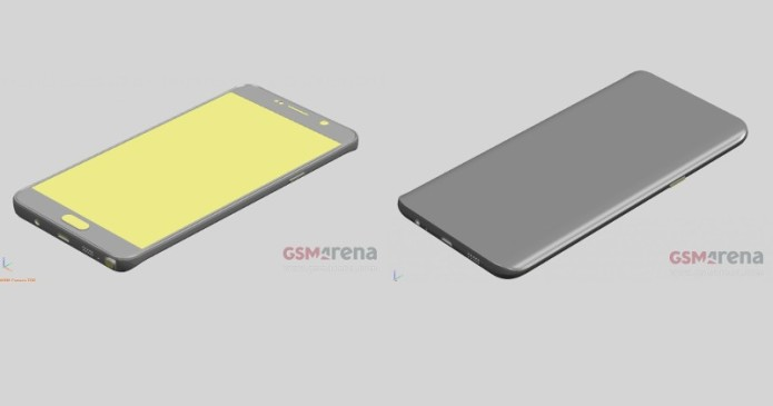 Galaxy Note 5 Aug 12 date leaked, renders show sizes