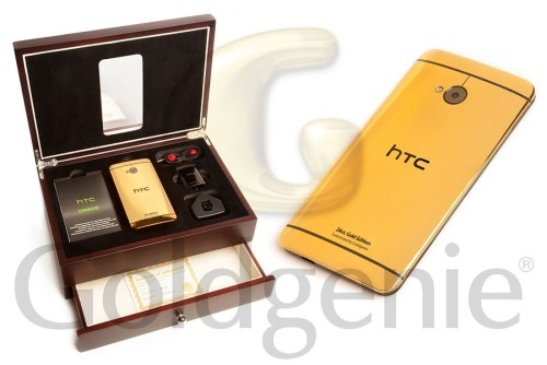 Want an even more premium HTC One M9? Try Goldgenie