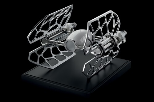 TIE Fighter-Inspired MB&F MusicMachine 3 Will Play The Star Wars Melody Using An Exquisitely-Crafted Mechanism