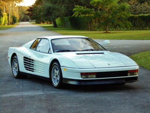 'Miami Vice' Ferrari up for auction