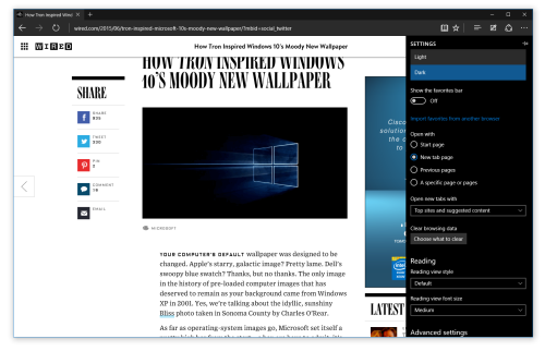 Microsoft Edge Browser Gets New Features in Latest Builds, Keeps IE-Like Logo