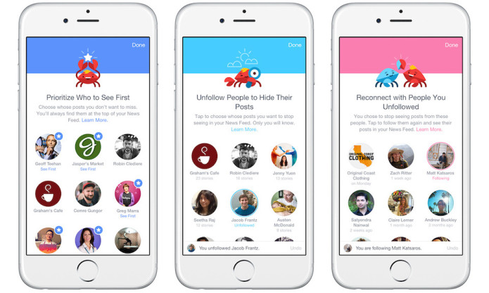 Facebook's iOS app update finally lets users customize News Feed