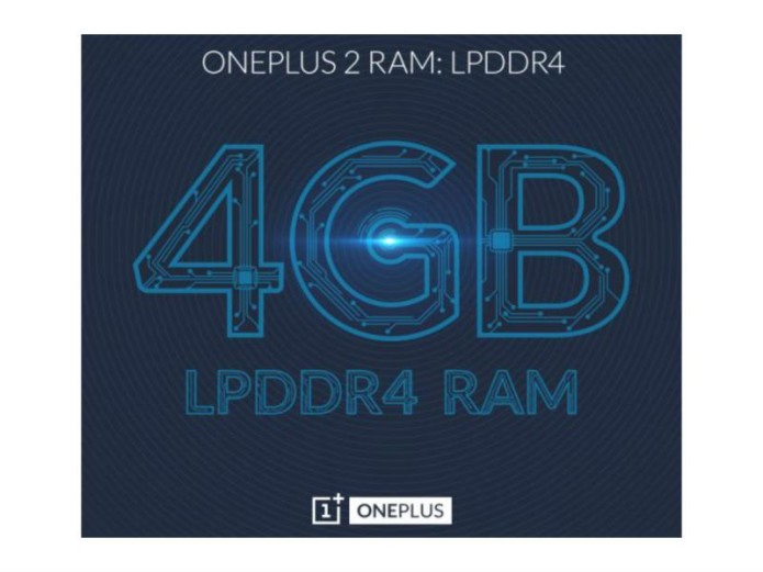 OnePlus 2 will come with 4GB RAM, to launch on July 27