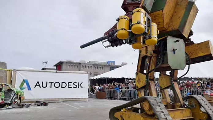 It's time: Team USA challenges Team Japan to giant robot duel