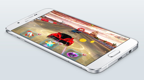 Samsung's Galaxy A8 is its thinnest phone yet