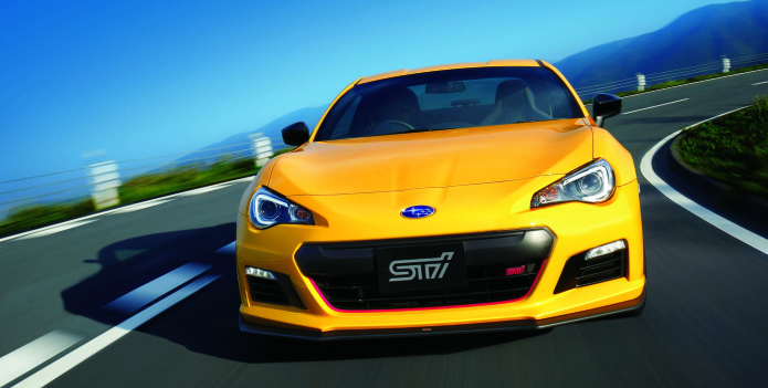 Subaru BRZ from STI