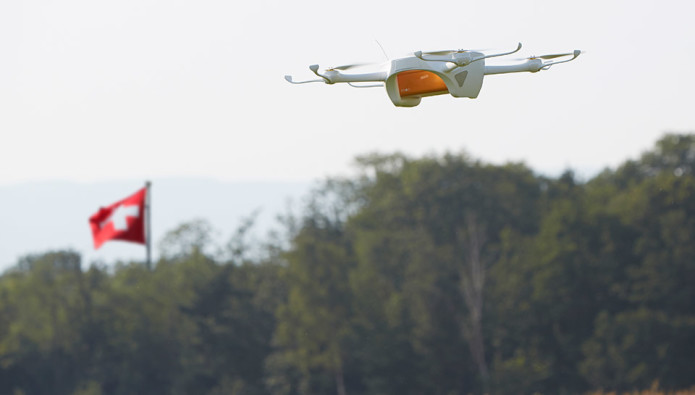 Swiss Post to start testing delivery drones this month