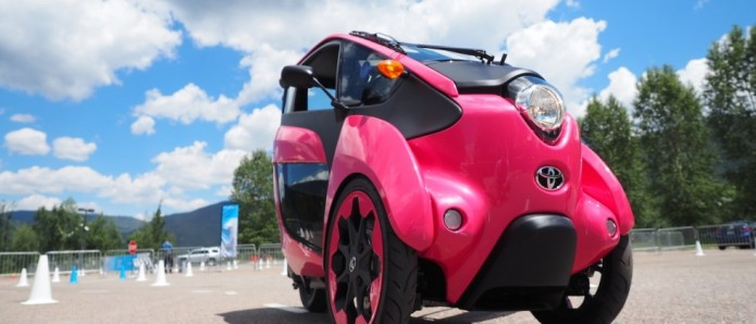 Toyota's crazy tilting EV underlines what's wrong with US cities