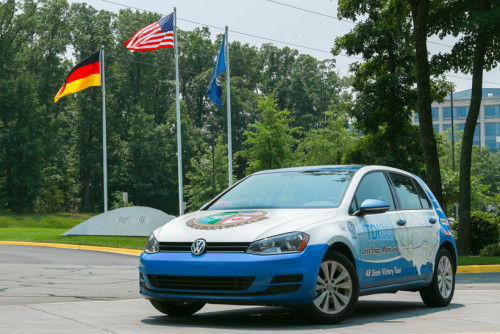 VW Golf TDI drives through lower 48 states on $294.98 in fuel