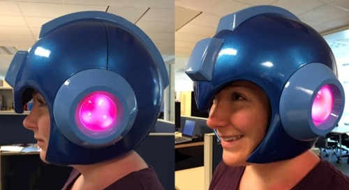 Finally, You Can Dress Like The Blue Bomber With This Wearable Mega Man Helmet