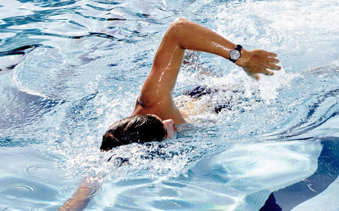 Withings' fitness watches automatically track your swimming