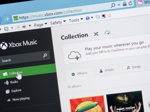 Xbox Music app now lets users stream from OneDrive