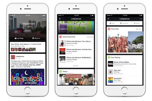 Facebook uses Lollapalooza to test its live event streaming