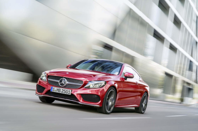 2017 Mercedes C-Class Coupe is longer, arrives in December