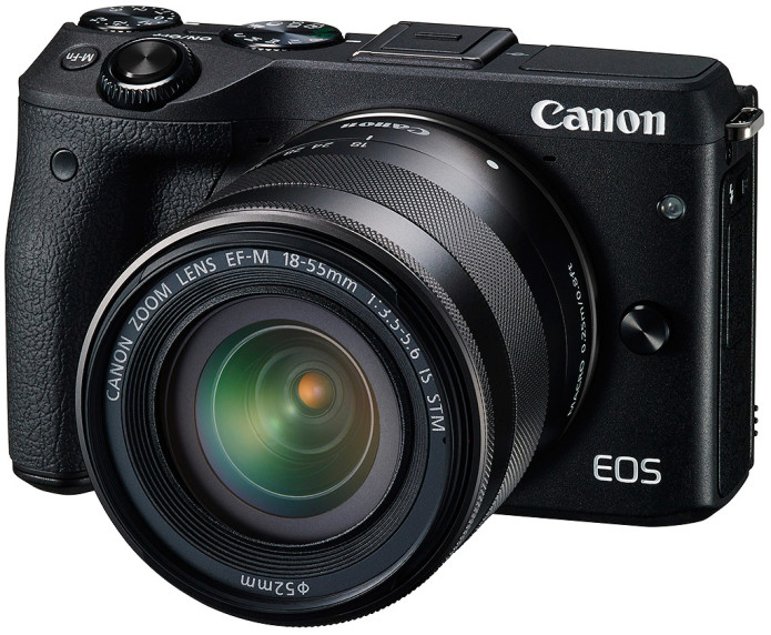 Canon EOS M3 mirrorless compact coming to the US in October