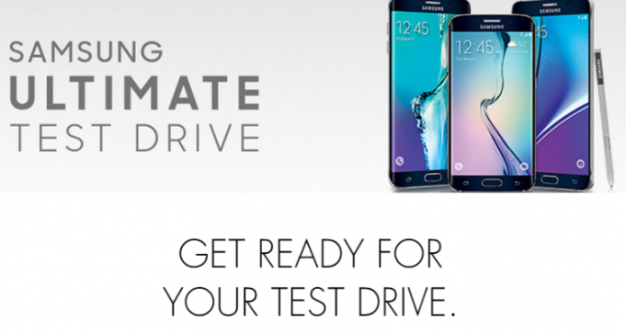 Samsung Ultimate Test Drive targets iPhone users