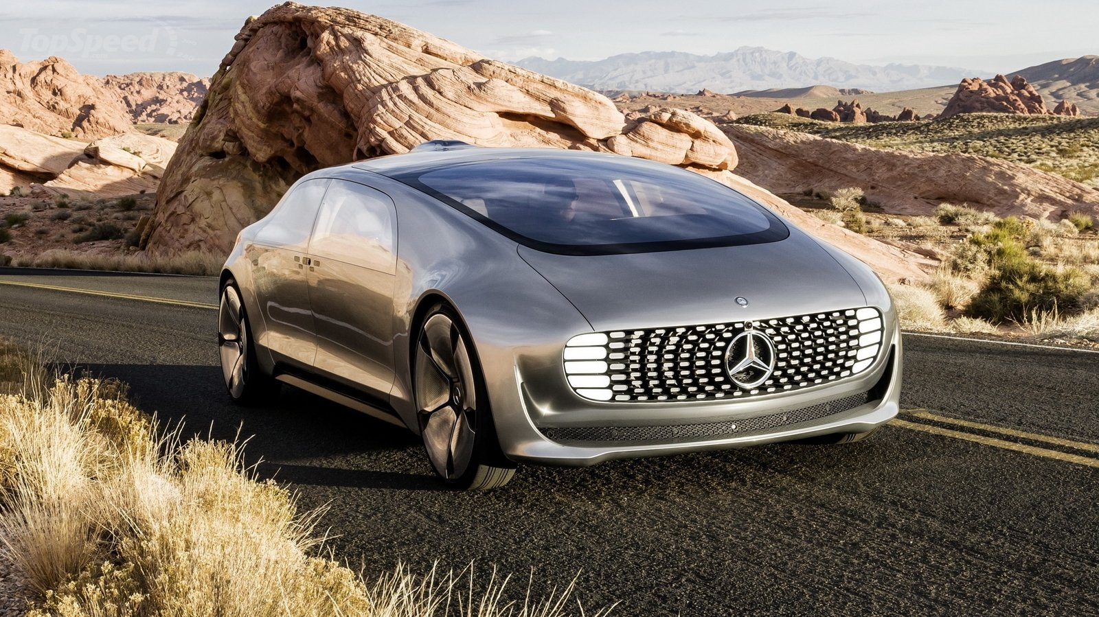 mercedes benz f 015 a driver less future car gearopen